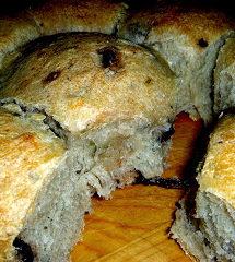 Rosemary-Olive Dinner Rolls