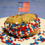 Memorial Day Ice Cream Cookie Sandwiches