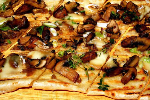 Grilled Flatbread - Alexandra's Kitchen