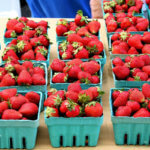 Almond Scones with Strawberry Jam