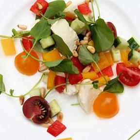 Tomato, Watercress and Mozzarella Salad