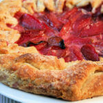 Pluot And Frangipane Galette