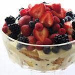 Grand Marnier Summer Berry Trifle
