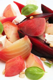 Peach and Beet Salad