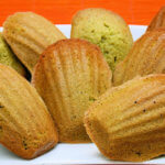 Green Tea Madeleines & Birchrun Hills Farm Blue