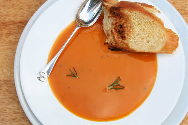 Rosemary Butternut Bisque