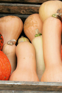 Thai Pumpkin Soup with Sweet & Salty Pumpkin Seeds