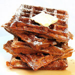 Pumpkin Waffles, Bread Pudding