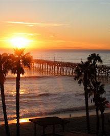Garlic-Cheese Butter & A San Clemente Sunset