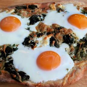 Breakfast Pizza For Dinner