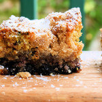Weekend Baking: Blueberry Crumb Coffee Cake