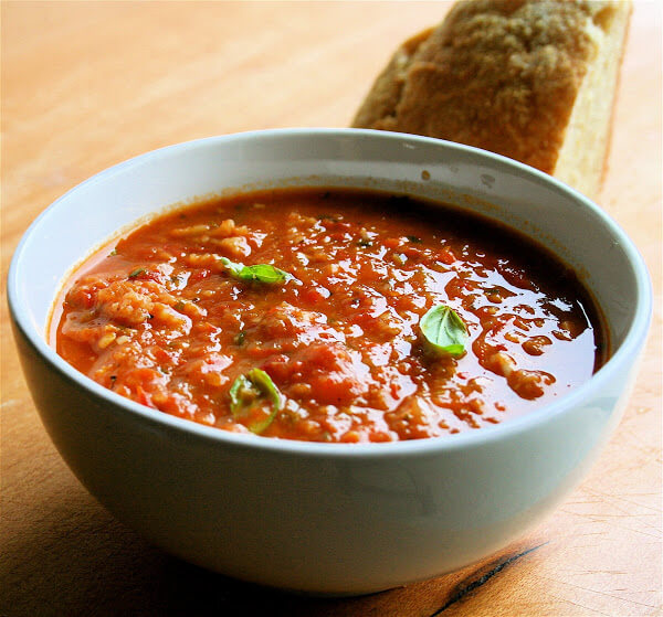 Roasted Tomato Soup Thickened with Bread (Pappa Al ...