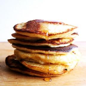 The Secret To Lemon-Ricotta Pancakes