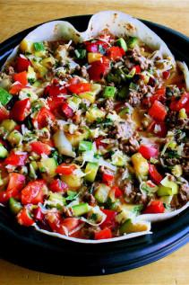 Leftover Tortillas? Make a Quiche