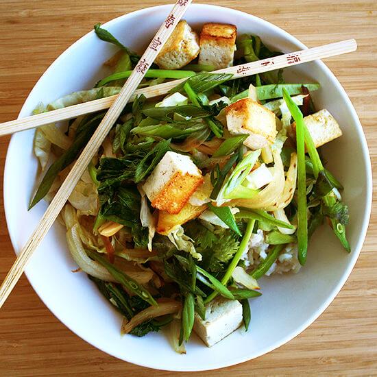 stir-fry veggies