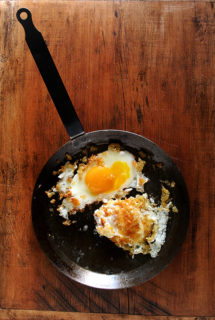 Zuni Cafe's Fried Eggs In Bread Crumbs