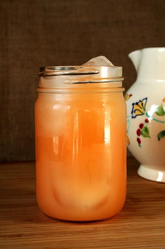 grapefruit soju cocktail