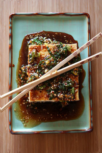 Warm Tofu with Spicy Dipping Sauce — The Only Way I Eat Tofu
