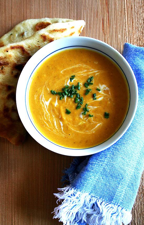 Carrot Cake &  Carrot-Ginger Soup