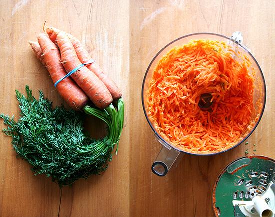 carrotswholeandshredded