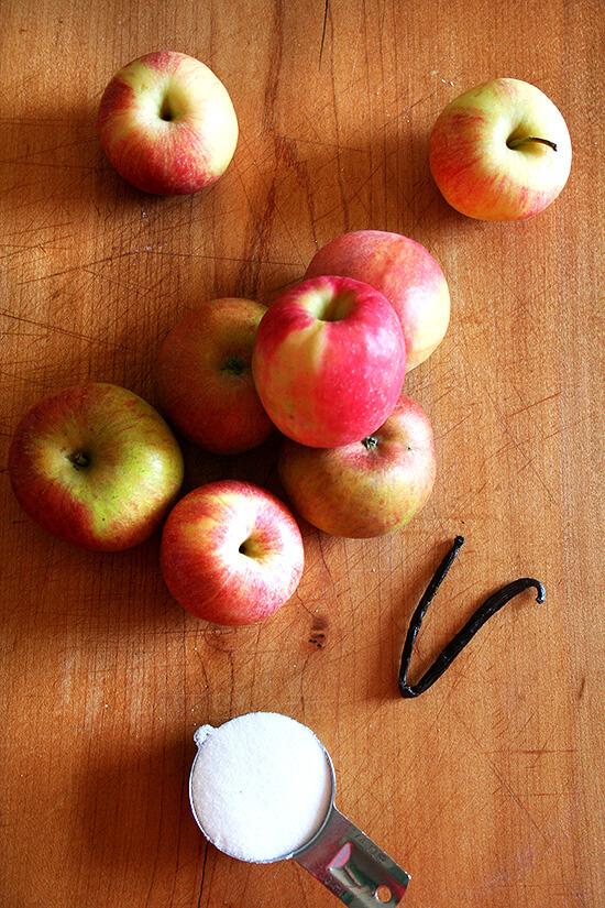 farmers' market apples