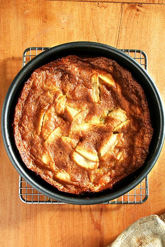 Balzano Apple Cake, Revisited