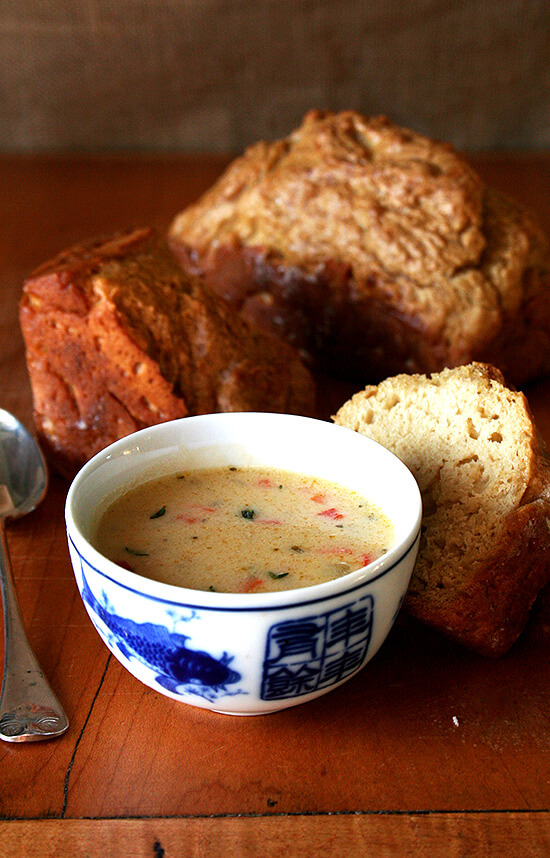 Vermont Cheddar Cheese soup