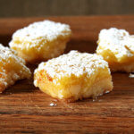 Shower Desserts: Lemon Bars & Brownies