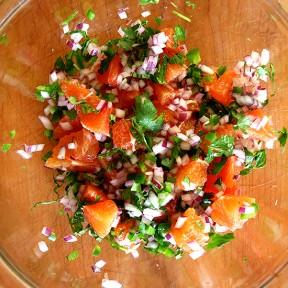 Before Winter Ends, A Yummy Salsa + A Bebeka