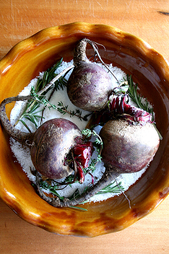 Uncooked Beets