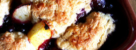 Cobbler, out of the oven