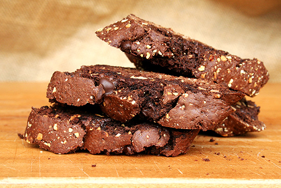 David Lebovitz' Chocolate Biscotti — Great Recipe