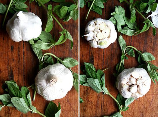 Garlic & Oregano