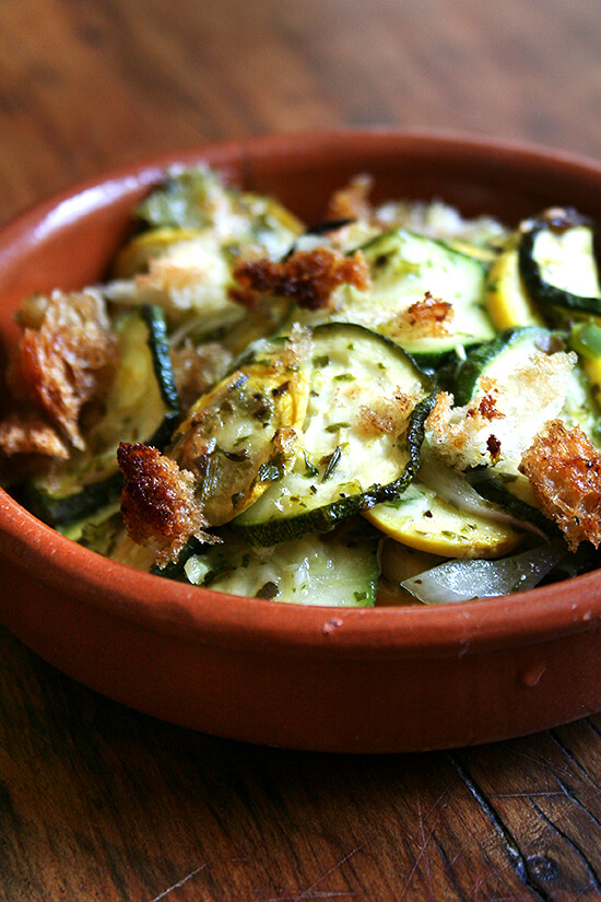 ... squash and goat cheese gratin mom s summer squash summer squash gratin