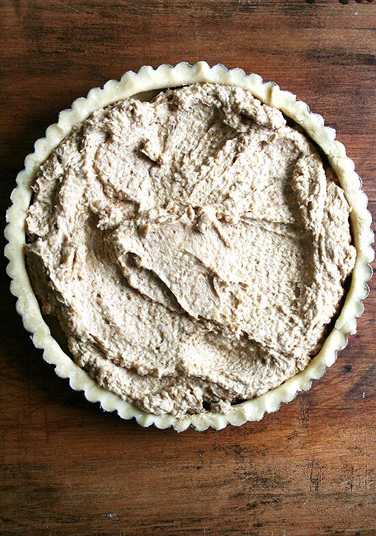 frangipane-filled tart
