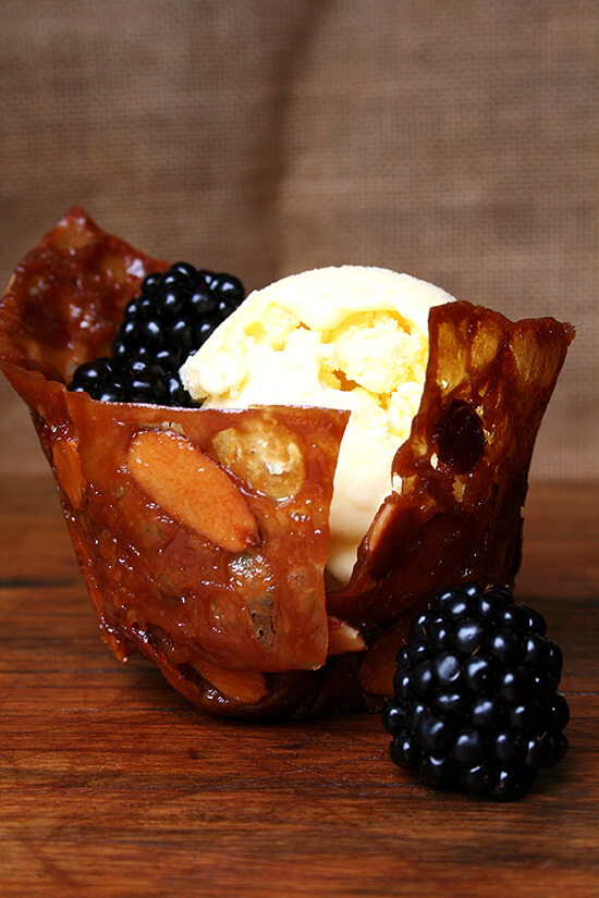 Homemade Créme Fraîche Ice Cream