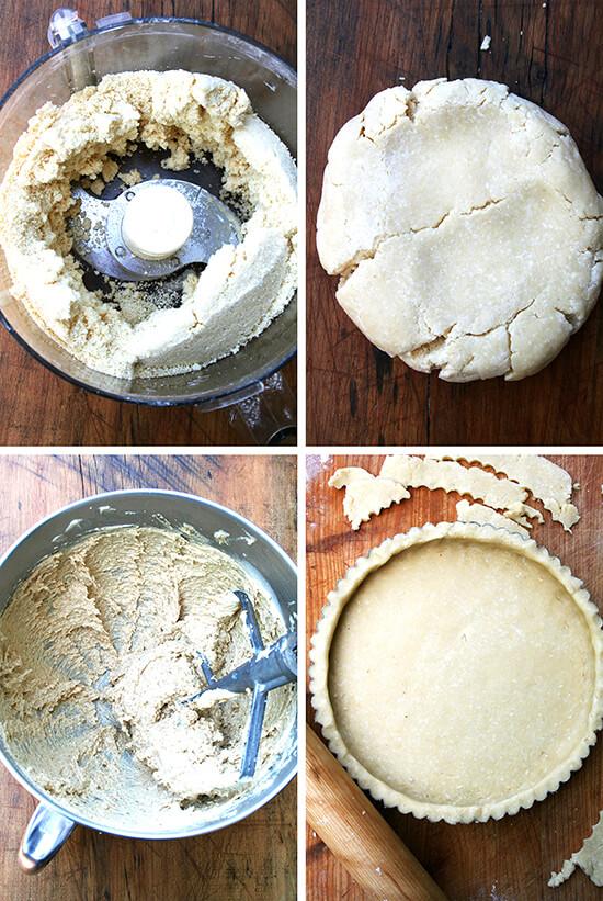 tart-making montage