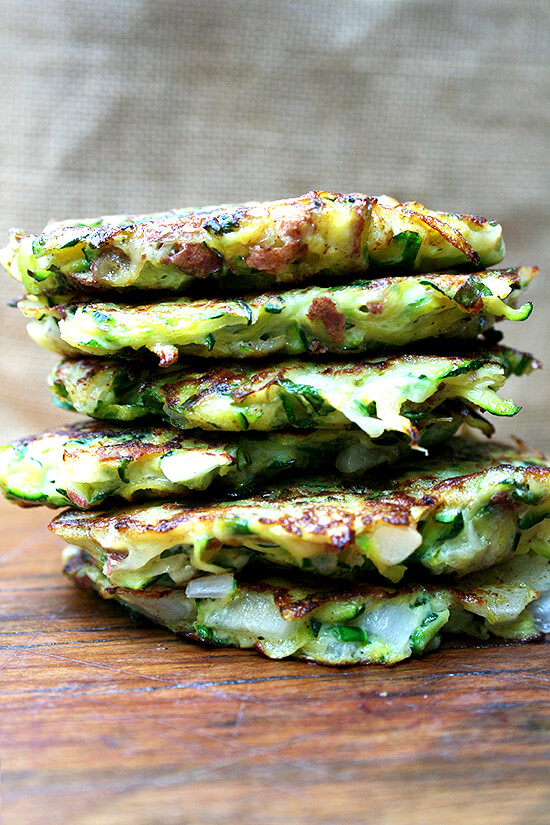 ... fritters kolokithokeftedes greek zucchini fritters with tzatziki greek