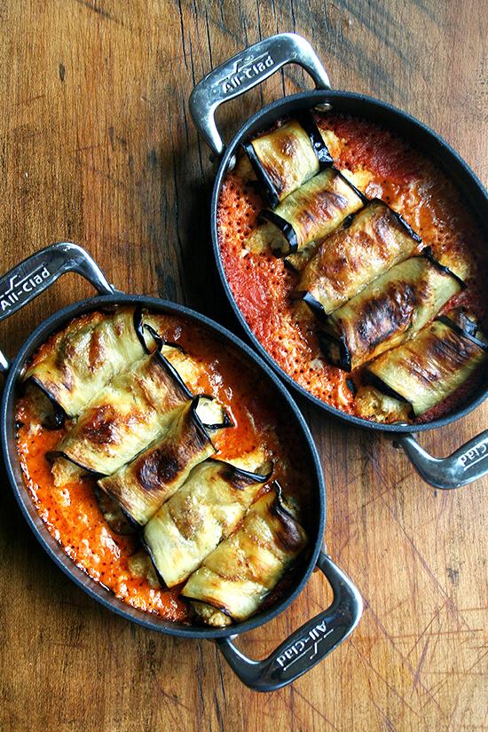 cooked involtini