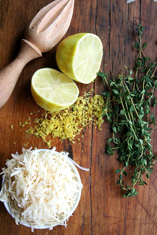 lemon & thyme