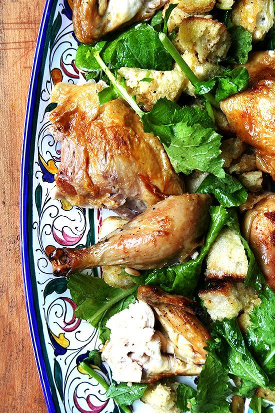 Zuni Cafe Roast Chicken Bread Salad