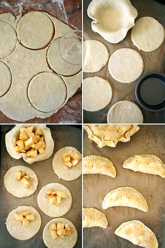 hand pie assembly