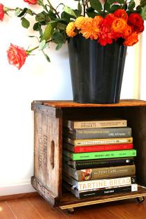 Cookbooks, Ranunculus & An Easy Little Craft Project
