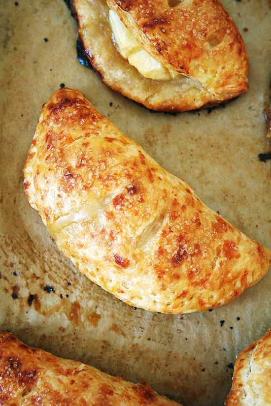 apple-cheddar hand pie