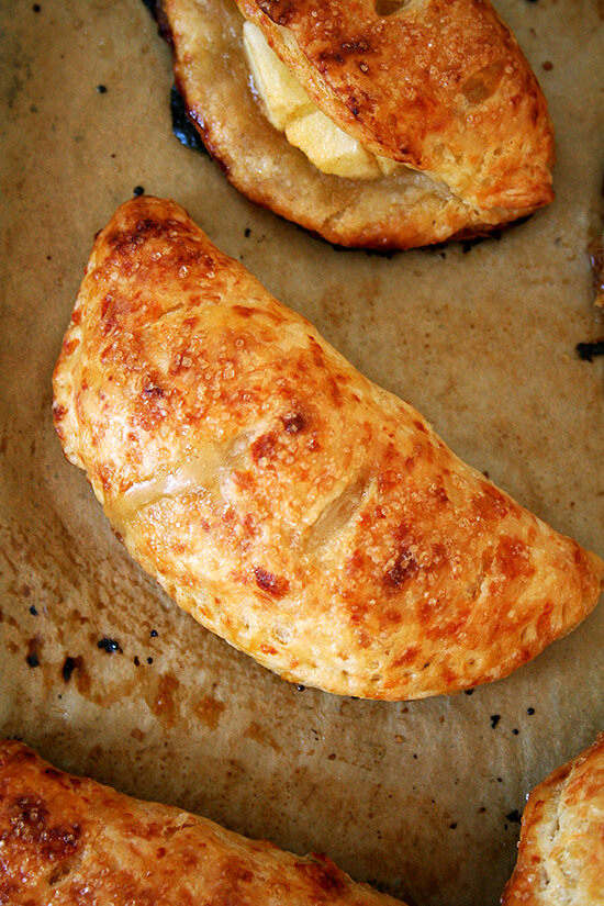 apple-cheddar hand pie