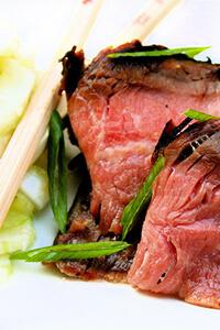 Korean flank steak