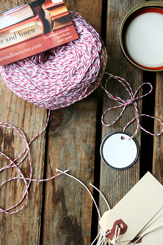 baker's twine from Paper & Linen