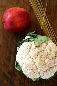 cauliflower and apple