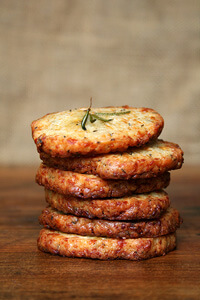 rosemary-parmesan crackers