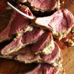 mustard crusted rack of lamb